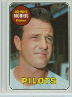 1969 Topps Baseball 111 Johnny Morris Seattle Pilots Near-Mint