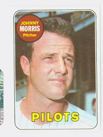 1969 Topps Baseball 111 Johnny Morris Seattle Pilots Near-Mint to Mint