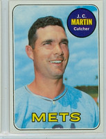 1969 Topps Baseball 112 JC Martin New York Mets Near-Mint