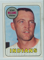 1969 Topps Baseball 118 Stan Williams Cleveland Indians Near-Mint