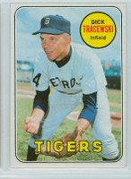 1969 Topps Baseball 126 Dick Tracewski Detroit Tigers Near-Mint