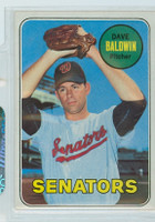 1969 Topps Baseball 132 Dave Baldwin Washington Senators Near-Mint Plus