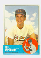 1963 Topps Baseball 45 Bob Aspromonte Houston Colts Near-Mint