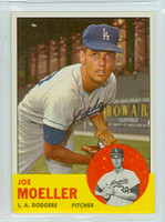 1963 Topps Baseball 53 Joe Moeller Los Angeles Dodgers Near-Mint