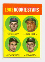 1963 Topps Baseball 54 b Rookie Stars 1963  Excellent to Excellent Plus