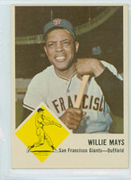 1963 Fleer Baseball 5 Willie Mays San Francisco Giants Excellent to Excellent Plus
