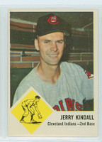 1963 Fleer Baseball 13 Jerry Kindall Cleveland Indians Near-Mint