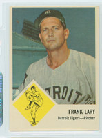 1963 Fleer Baseball 14 Frank Lary Kansas City Athletics Excellent to Mint