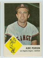 1963 Fleer Baseball 19 Albie Pearson Los Angeles Angels Near-Mint