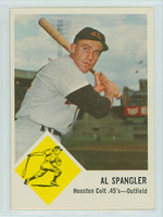 1963 Fleer Baseball 39 Al Spangler Houston Colts Near-Mint Plus