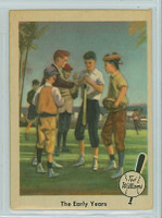 1959 Fleer Ted Williams 1 The Early Years Very Good