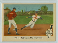 1959 Fleer Ted Williams 4 Fine Points Good to Very Good