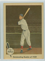 1959 Fleer Ted Williams 14 Outstanding Rookie Near-Mint to Mint