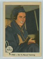 1959 Fleer Ted Williams 20 On to Naval Training Excellent
