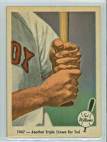 1959 Fleer Ted Williams 33 Another Triple Crown Near-Mint to Mint