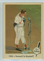 1959 Fleer Ted Williams 45 Farewell Baseball? Excellent to Mint