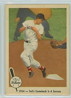 1959 Fleer Ted Williams 53 Comeback Success Near-Mint to Mint