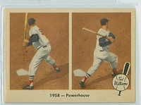 1959 Fleer Ted Williams 66 Powerhouse Near-Mint to Mint