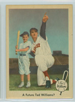 1959 Fleer Ted Williams 69 A Future for Ted? Near-Mint to Mint