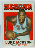 1971 Topps Basketball 5 Luke Jackson Philadelphia 76ers Near-Mint