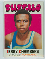 1971 Topps Basketball 13 Jerry Chambers Buffalo Braves Excellent to Mint
