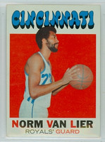 1971 Topps Basketball 19 Norm Van Lier Cincinnati Royals Excellent to Mint