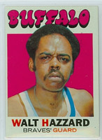 1971 Topps Basketball 24 Walt Hazzard Buffalo Braves Excellent to Mint