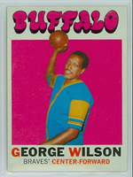 1971 Topps Basketball 26 George Wilson Buffalo Braves Near-Mint