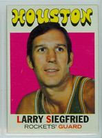 1971 Topps Basketball 36 Larry Siegfried Houston Rockets Near-Mint