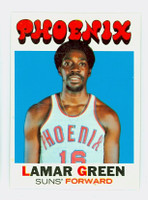 1971 Topps Basketball 39 Lamar Green Pheonix Suns Near-Mint to Mint