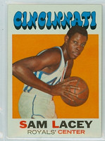 1971 Topps Basketball 57 Sam Lacey ROOKIE Cincinnati Royals Near-Mint