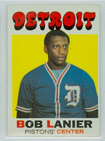 1971 Topps Basketball 63 Bob Lanier ROOKIE Detroit Pistons Excellent to Excellent Plus