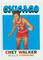 1971 Topps Basketball 66 Chet Walker Chicago Bulls Excellent to Excellent Plus