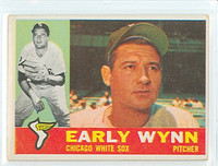 1960 Topps Baseball 1 Early Wynn Chicago White Sox Very Good to Excellent