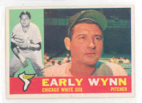 1960 Topps Baseball 1 Early Wynn Chicago White Sox Excellent to Mint