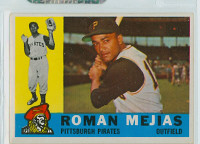1960 Topps Baseball 2 Roman Mejias Pittsburgh Pirates Excellent to Mint