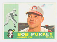 1960 Topps Baseball 4 Bob Purkey Cincinnati Reds Excellent to Excellent Plus