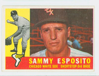 1960 Topps Baseball 31 Sammy Esposito Chicago White Sox Excellent