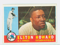 1960 Topps Baseball 65 Elston Howard New York Yankees Excellent