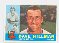 1960 Topps Baseball 68 Dave Hillman Boston Red Sox Excellent