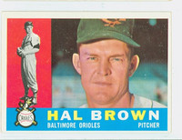 1960 Topps Baseball 89 Hal Brown Baltimore Orioles Excellent