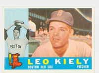 1960 Topps Baseball 94 Leo Kiely Boston Red Sox Excellent