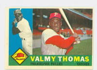 1960 Topps Baseball 167 Valmy Thomas Philadelphia Phillies Excellent