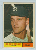 1961 Topps Baseball 2 Roger Maris New York Yankees Excellent
