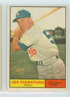 1961 Topps Baseball 74 Joe Pignatano Los Angeles Dodgers Excellent to Mint