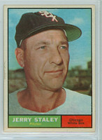 1961 Topps Baseball 90 Jerry Staley Chicago White Sox Near-Mint