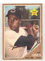 1962 Topps Baseball 49 Hal Jones Cleveland Indians Near-Mint