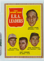 1962 Topps Baseball 56 NL ERA Ldrs Near-Mint