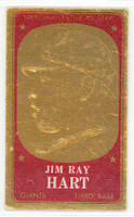 1965 Topps Embossed 4 Jim Hart San Francisco Giants Excellent to Mint
