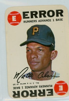1968 Topps Game 1 Matty Alou Pittsburgh Pirates Very Good